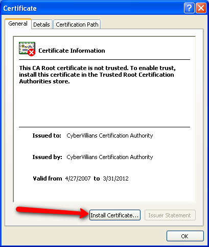 How to Accept Self-Signed SSL Certificates in Selenium 2 - Kevin